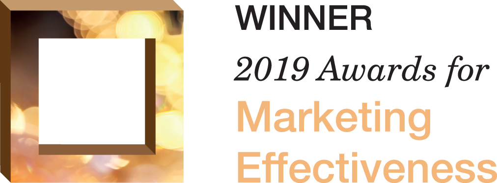 Winner 2019 Marketing Effectiveness awards